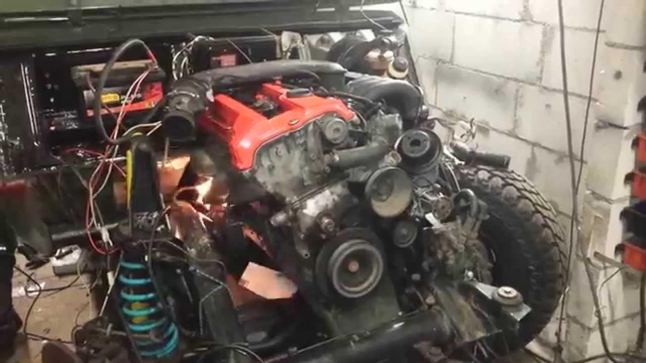 Mercedes Ge Engine Swap