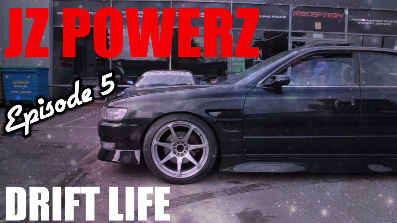 🐒 THROWING MY DRIFT CAR INTO WALLS   TOYOTA CHASER 1.5JZ   YouTube