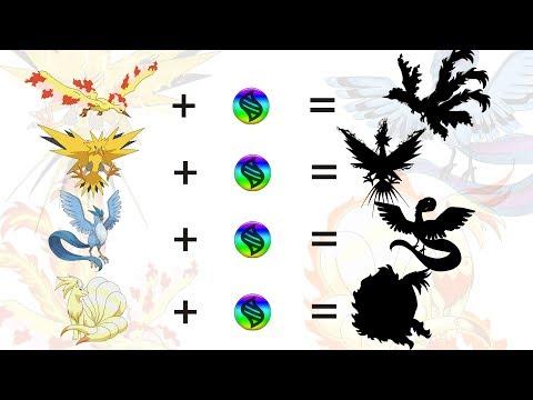 Richieste di fan # 3: Mega Legendary Birds e Mega Ninetales - Pokemon Mega Evolution Fanart Series