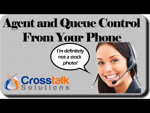 Agent and Queue Control from your Phone