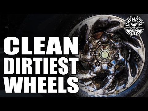 How To Clean The Dirtiest Wheels! - Chemical Guys