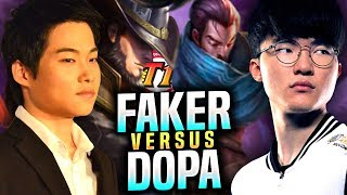 DOPA vs FAKER! - Dopa Plays Twisted Fate vs Faker Yasuo Mid! | S9 KR SoloQ Patch 9.19