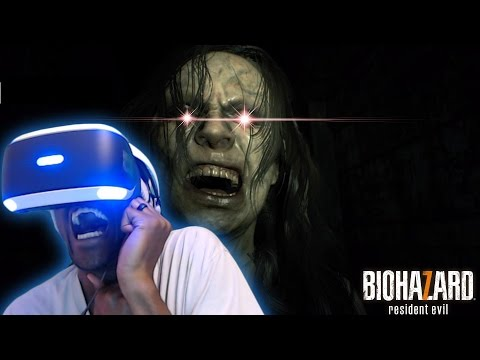 HEART ATTACK INCREASED BY 1000% | Resident Evil 7: Biohazard #1  [PlayStation VR] The Screams LOL