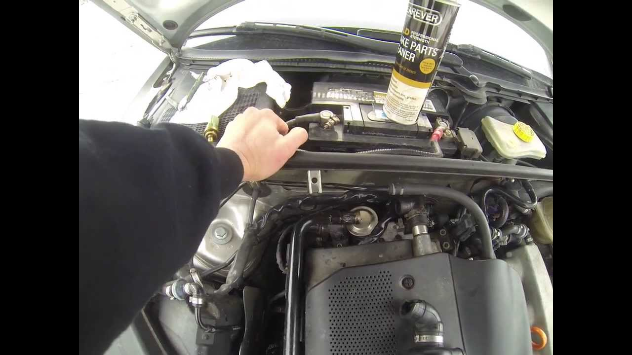 How To Audi Vw 1 8t Engine Coolant Temp Sensor