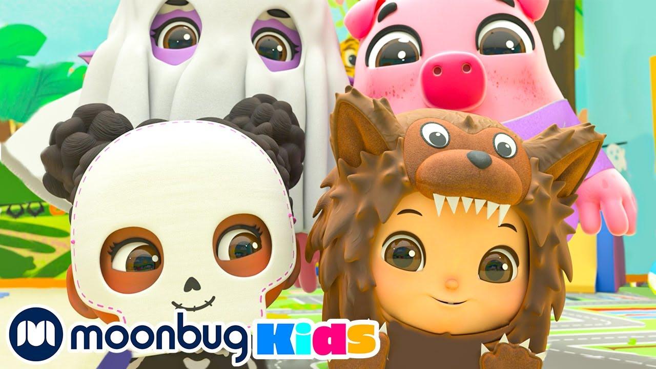 Halloween Dress Up Song  @Lellobee City Farm - Cartoons & Kids Songs   Sing Along With Me!   Moonbug