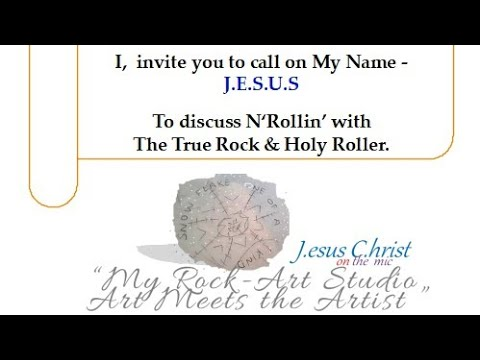 """My Rock-Art Studio"" Presents: Risen Jesus Christ- Ali performing ""Holy One"""