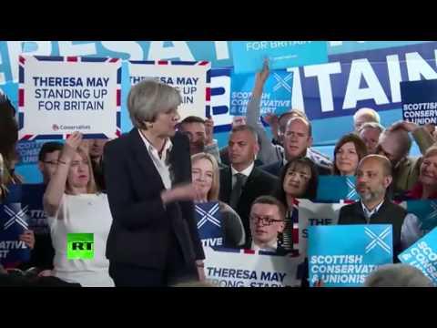 May & Ruth Davidson address Scottish Tories (FULL)