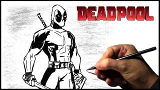 Desenhando DeadPool (How To Draw DeadPool)