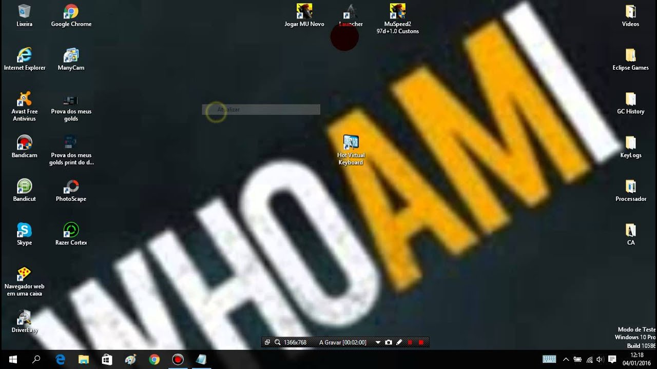 6040f573b2f Configurando Macro Para Trade Pelo Hot Virtual Keyboard - YouTube