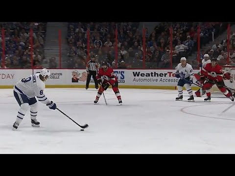 Carrick puts Maple Leafs ahead with wrist shot from point