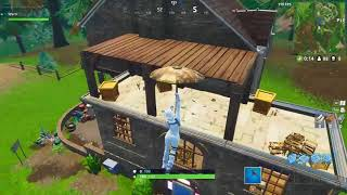 FORTNITE HAUNTED HOUSE DANCE FLOOR LOCATION (West of Pleasant Park)