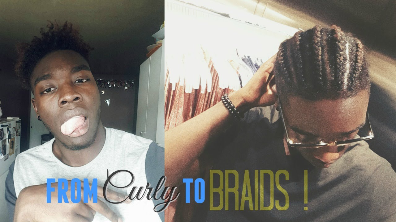 Curly High Top Fade ... BRAIDS ?? (UPDATE VIDEO) - YouTube