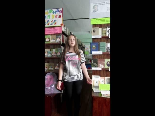 Изображение предпросмотра прочтения – ЕленаЖарова читает произведение «Зимний вечер» А.С.Пушкина