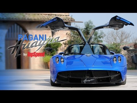 Pagani Huayra Road Test by TopSpeed Serbia Full HD