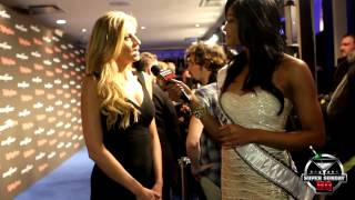 Erin Andrews Tries on MISS USA
