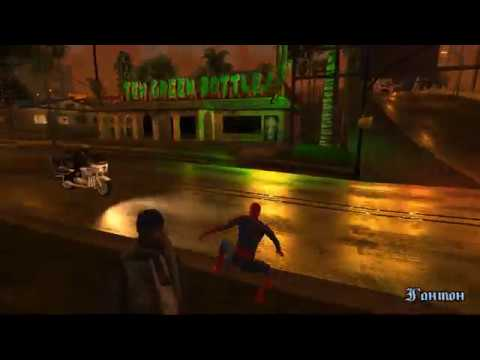 GTA SA - J16D Spider-man mod + RenderHook by PetkaGTA