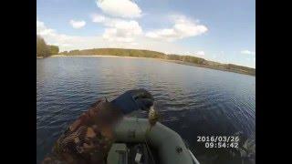 Ловля весною хижака на річці Тетерів