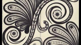 Doodles, Giveaway & Paint Chip Storage