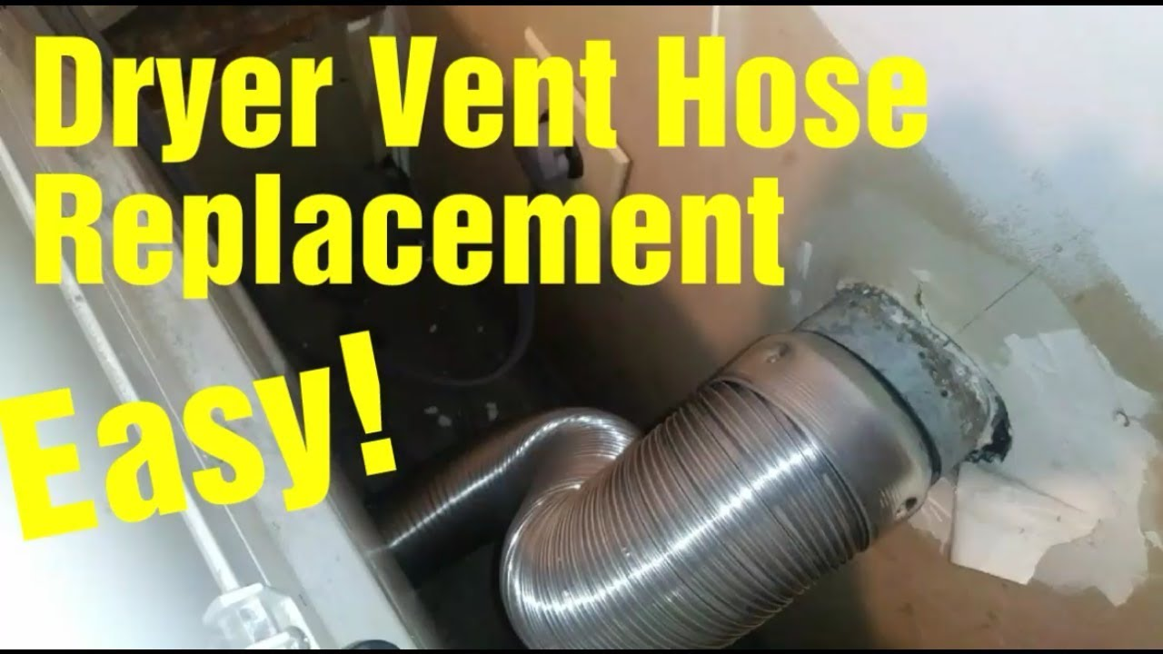 dryer vent hose simple replacement