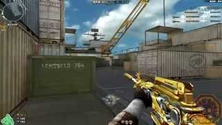 Cross Fire China || M4A1-S Iron Beast Noble Gold [GamePlay]!