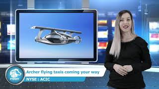 ACIC - Archer Aviation the new EV flying VTOL aircraft play