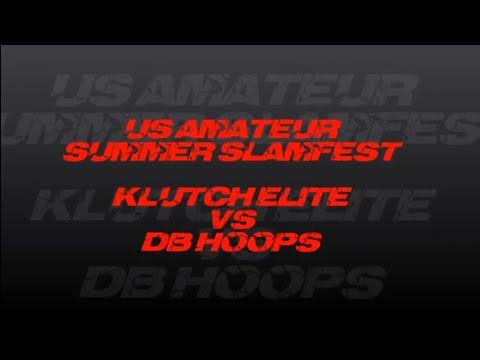 KLUTCHELITE VS DB HOOPS