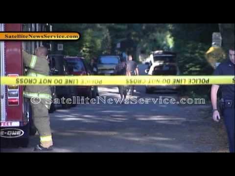Haz Mat Crews at Residence on State Road in Plymouth, MA (09-29-13)