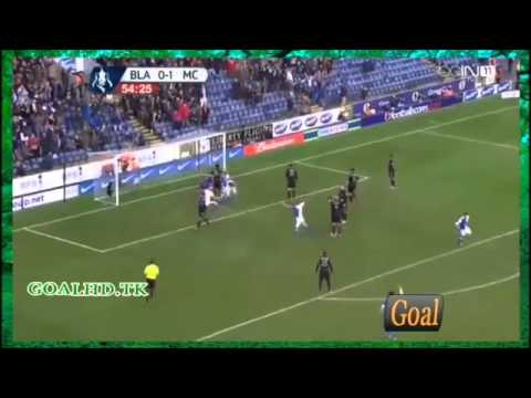 Blackburn Rovers vs Manchester City 1-1 All Goals Highlights