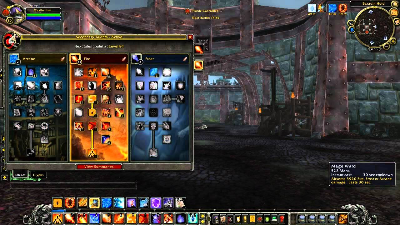 WoW Cataclysm Guide - Fire mage changes and PvP spec possibilities