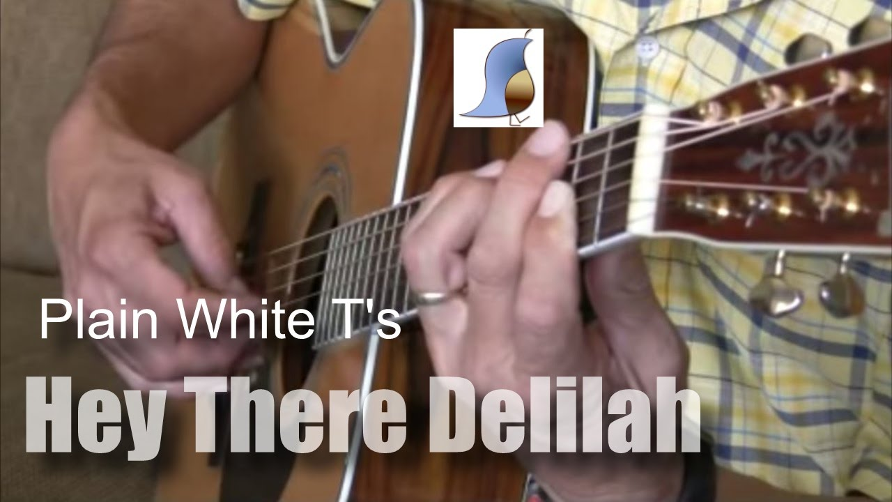 Easy Guitar Lesson Hey There Delilah Youtube