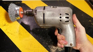 "1950s Black & Decker U-3 1/4"" Deluxe Utility Drill: cleaning and repair"