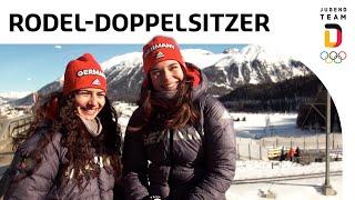 Rodeldoppelsitzer Frauen Jessica Degenhardt und Vanessa Schneider