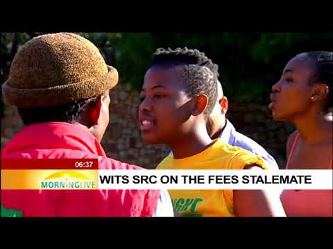 Wits SRC on the fees stalemate part 1