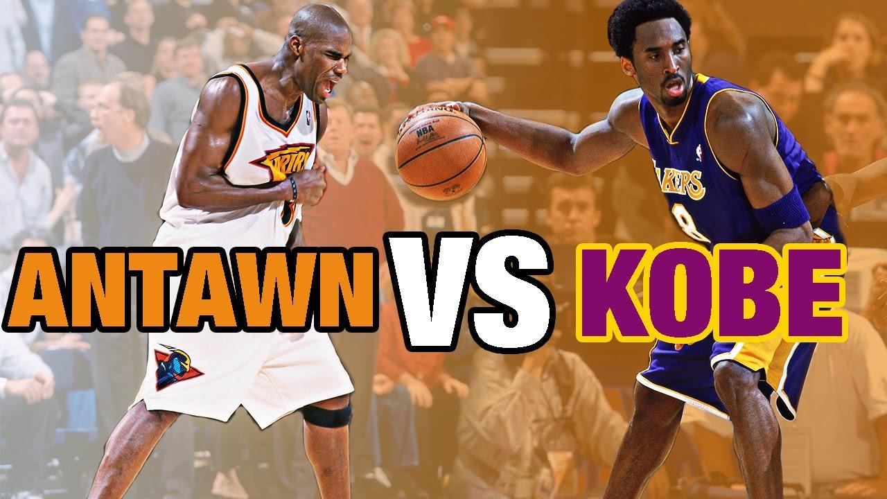 Kobe Bryant vs Antawn Jamison Epic Duel