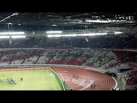 Viking Clap Indonesia vs Iceland 14 Januari 2018 at Gelora Bung Karno Stadium,  Jakarta