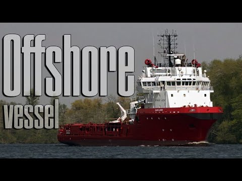 AHTS Sar Loke Offshore Supply Vessel Tugboat Operation Olsen Gruppen