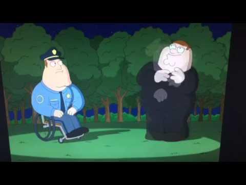 Lou Costello on Family Guy