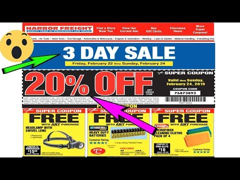 3 DAY SALE| |HARBOR FREIGHT