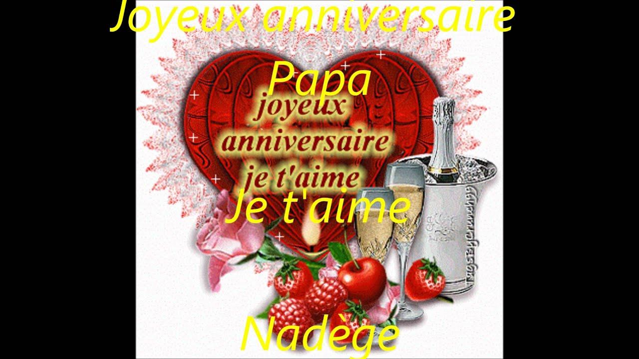 Joyeux Anniversaire Papa Youtube