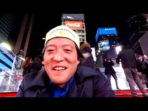 LIVE in Times Square #NYC Skateboarding 2016!