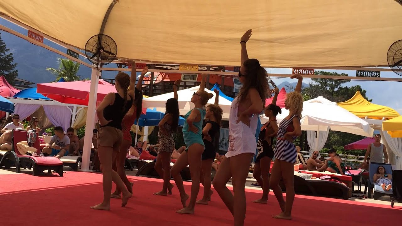 orange county resort kemer 21 06 2014 qm 004 candy girl show - youtube