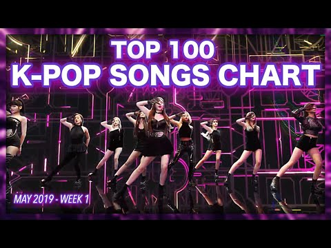TOP 100 K-POP SONGS CHART  MAY 2019 WEEK 1