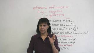 Common English Errors: SOME & ANY