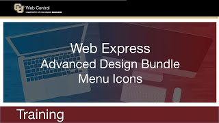 Navigation - Add a Menu Icon