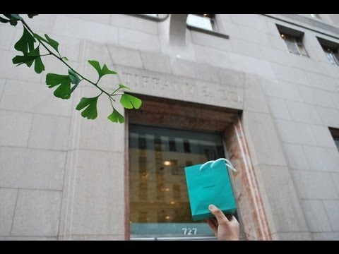 The Tiffany & Co in NYC