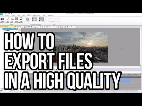 How to Export a File in a High Quality with VSDC Free Video Editor