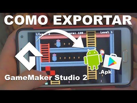Configurar GameMaker Studio 2 Para Exportar Juegos Android