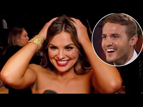 Hannah Brown REACTS To Her Appearance On Peter Weber's 'Bachelor' Trailer!