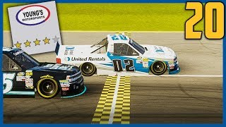 WE GOT SOME SPEED NOW! | NASCAR Heat 3 Career Mode |Truck Hot Seat: Chicago| Ep. 20