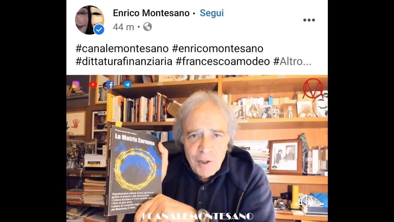 Il grande Enrico Montesano spiega La Matrix Europea di Francesco Amodeo
